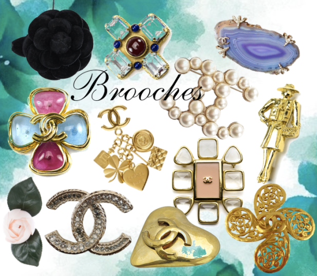 spile chanel brooches chanel